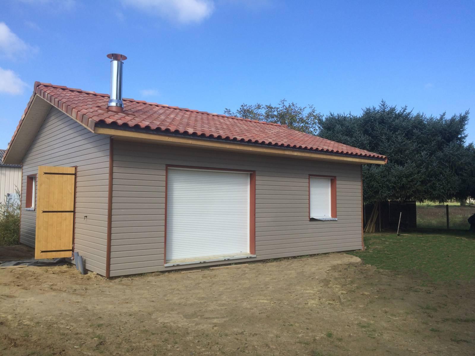 Maison ossature bois réf 30045  près de Riscle dans le Gers (32)  Cogebois