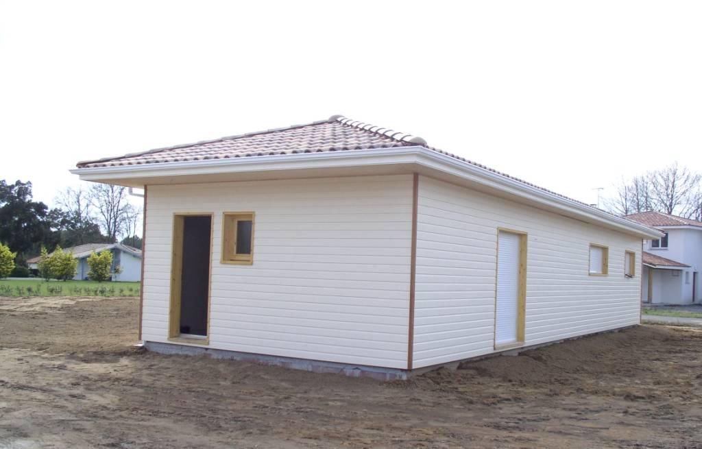 maison hors d 39 eau hors d 39 air r f 20 pr s de capbreton dans les landes 40 cogebois. Black Bedroom Furniture Sets. Home Design Ideas