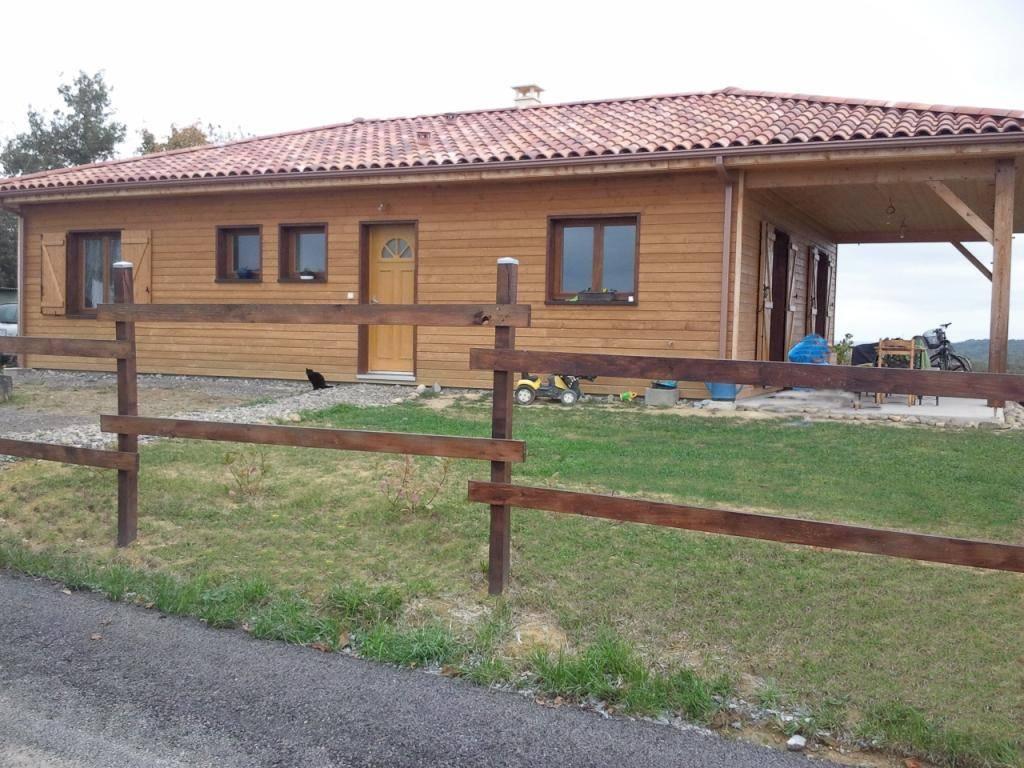 Maison hors d 39 eau hors d 39 air r f 20040 pr s de morm s dans le gers 32 cogebois - Assurance maison hors d eau hors d air ...