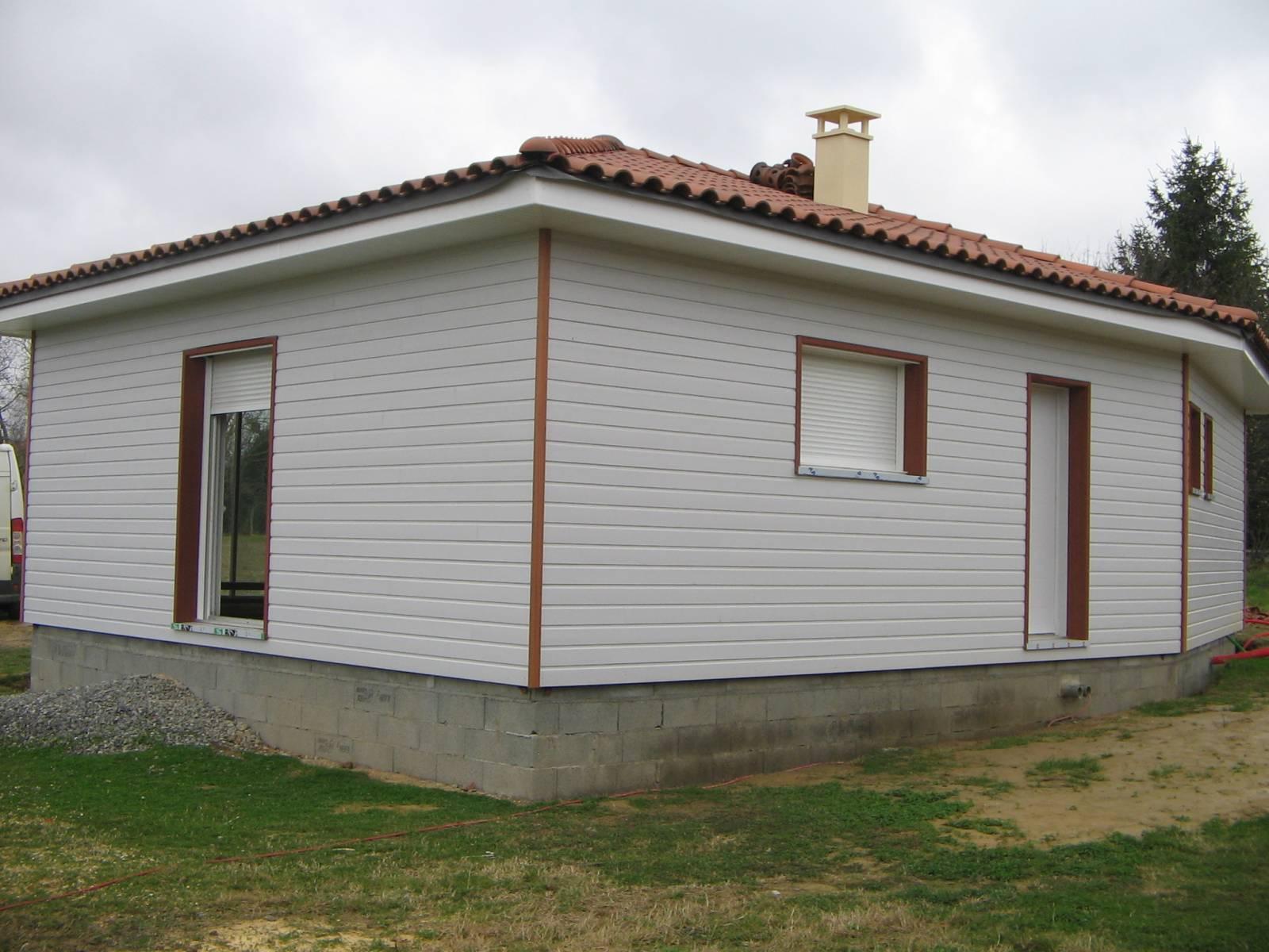 maison bois cl en main a castelnau magnoac 65 ref. Black Bedroom Furniture Sets. Home Design Ideas