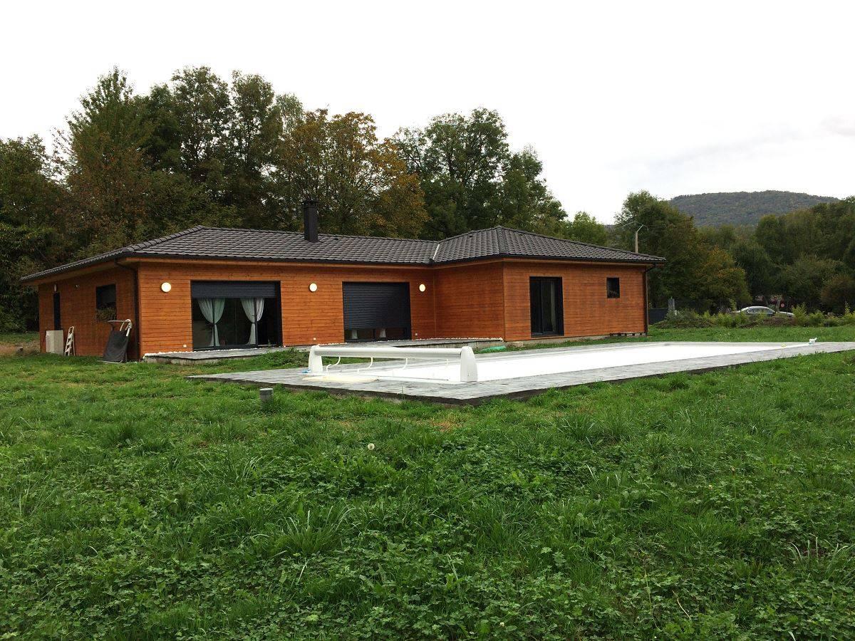 Faire Sa Maison En Ossature Bois En Haute Garonne Près De Bagnères De  Luchon   Réf. 00043