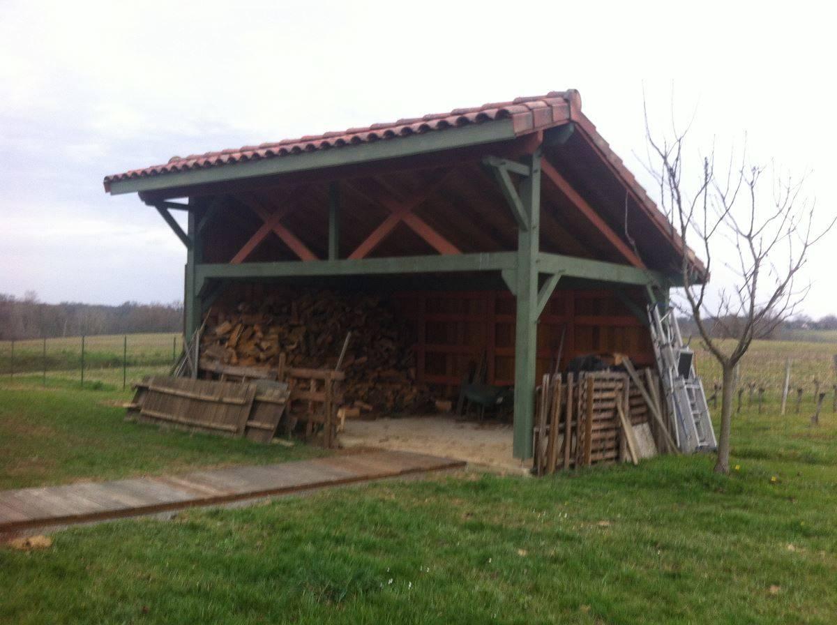 Abris bois cogebois for Abri bois ferme