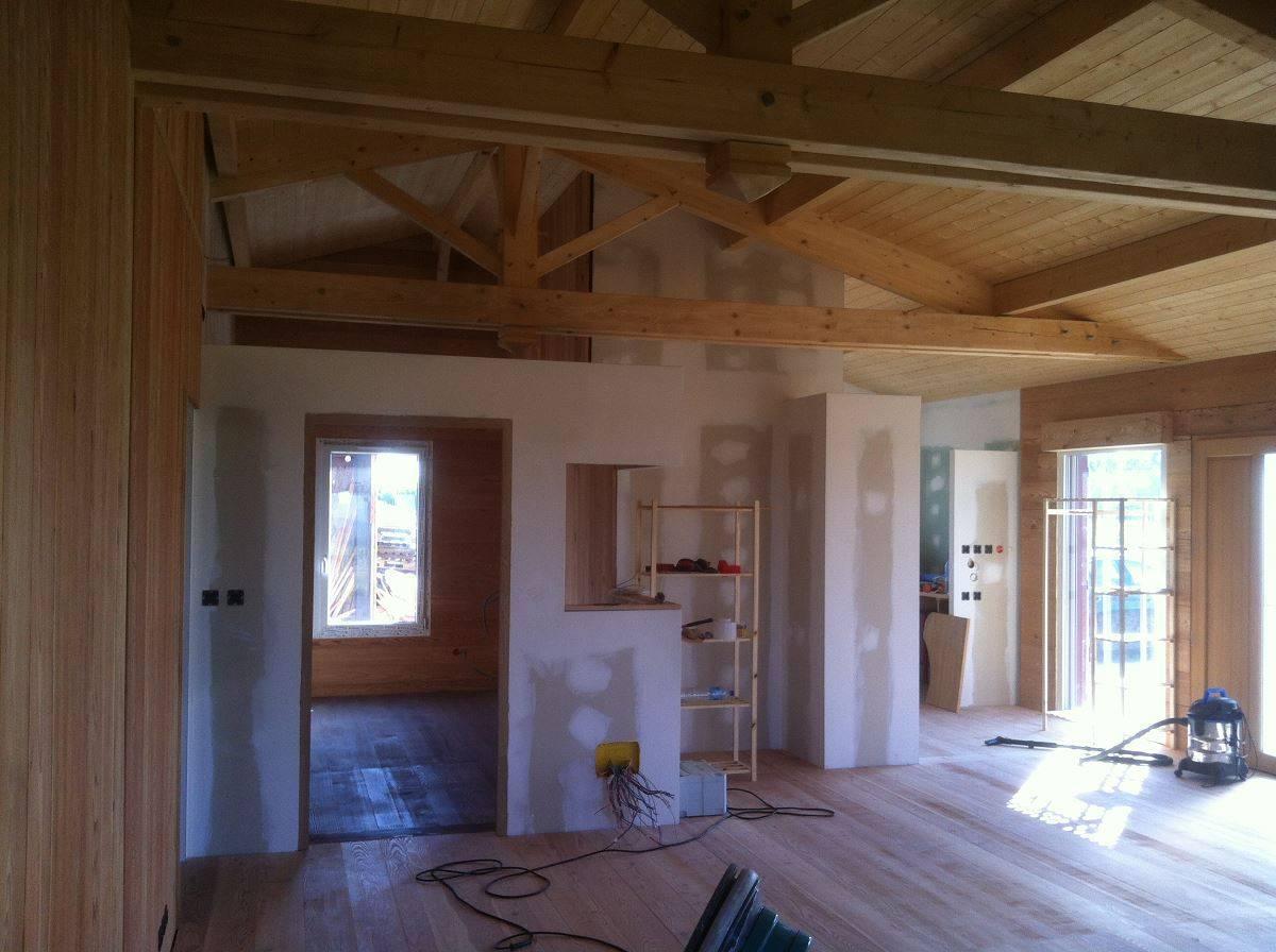 Maison Bois Charente Maritime - Construire sa maison en ossature bois en Charente Maritime (17) Réf 00044 Cogebois