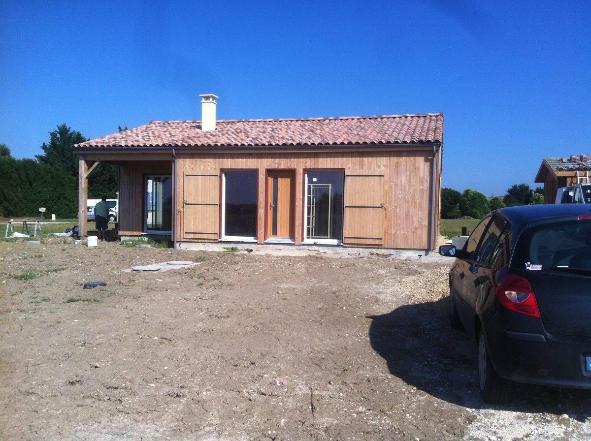 Construire sa maison en ossature bois en Charente Maritime (17) Réf 00044 Cogebois # Maison Bois Charente Maritime