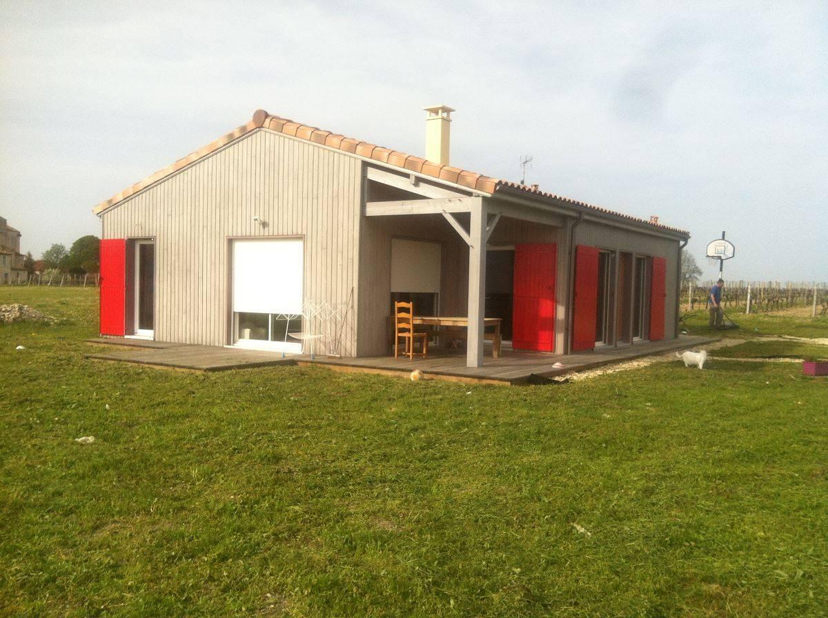 construire sa maison ossature bois ? maison moderne - Construire Sa Maison Ossature Bois Soi Meme