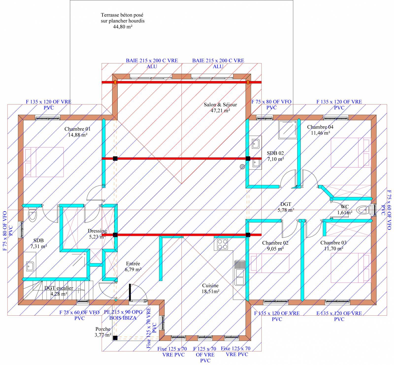 Maison auto construction pr s d 39 albi dans le tarn 81 for Auto construction maison
