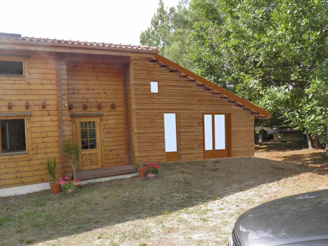 Extension En Ossature Bois R F 50004 Pr S De Mimizan