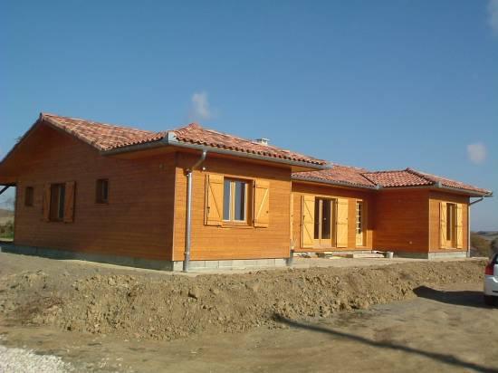 devis maison bois hors d 39 eau hors d 39 air gers 32 cogebois. Black Bedroom Furniture Sets. Home Design Ideas