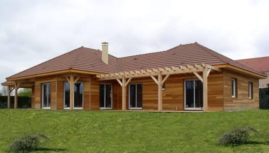 maison bois en kit 64