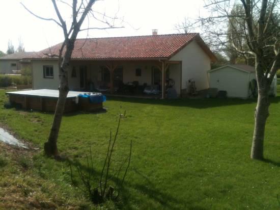 Maison bois r f 37 pr s d 39 agen dans le lot et garonne for Constructeur maison contemporaine lot et garonne