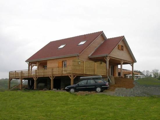 construction de maison en bois hors d'eau hors d'air clé en main ... - Constructeur Maison Hors D Eau Hors D Air