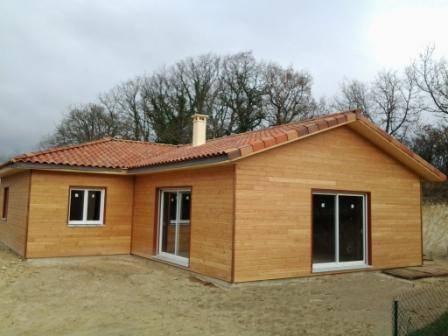 Vente de kit d 39 auto construction de maison en bois landes for Construction maison landes prix