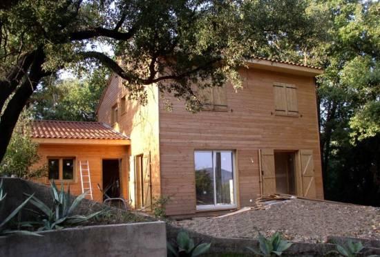 Fabriquer Sa Maison Contemporaine  Toit Plat En Bois Bordeaux