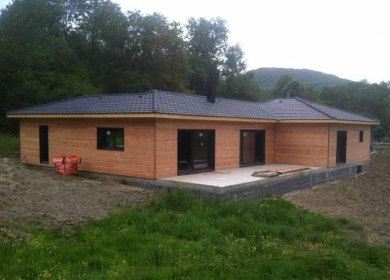 Construction de maison en bois agen lot et garonne 47 for Maison en autoconstruction