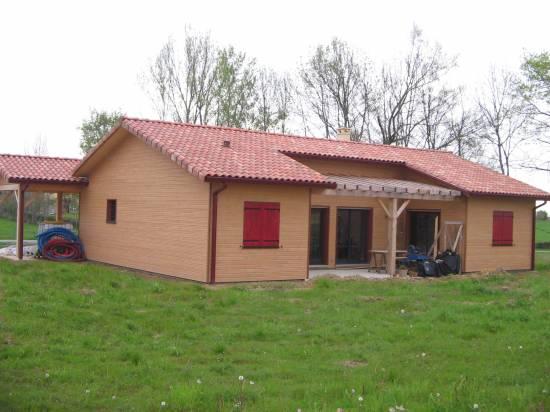 Fabriquer Sa Maison Contemporaine À Toit Plat En Bois Toulouse Haute